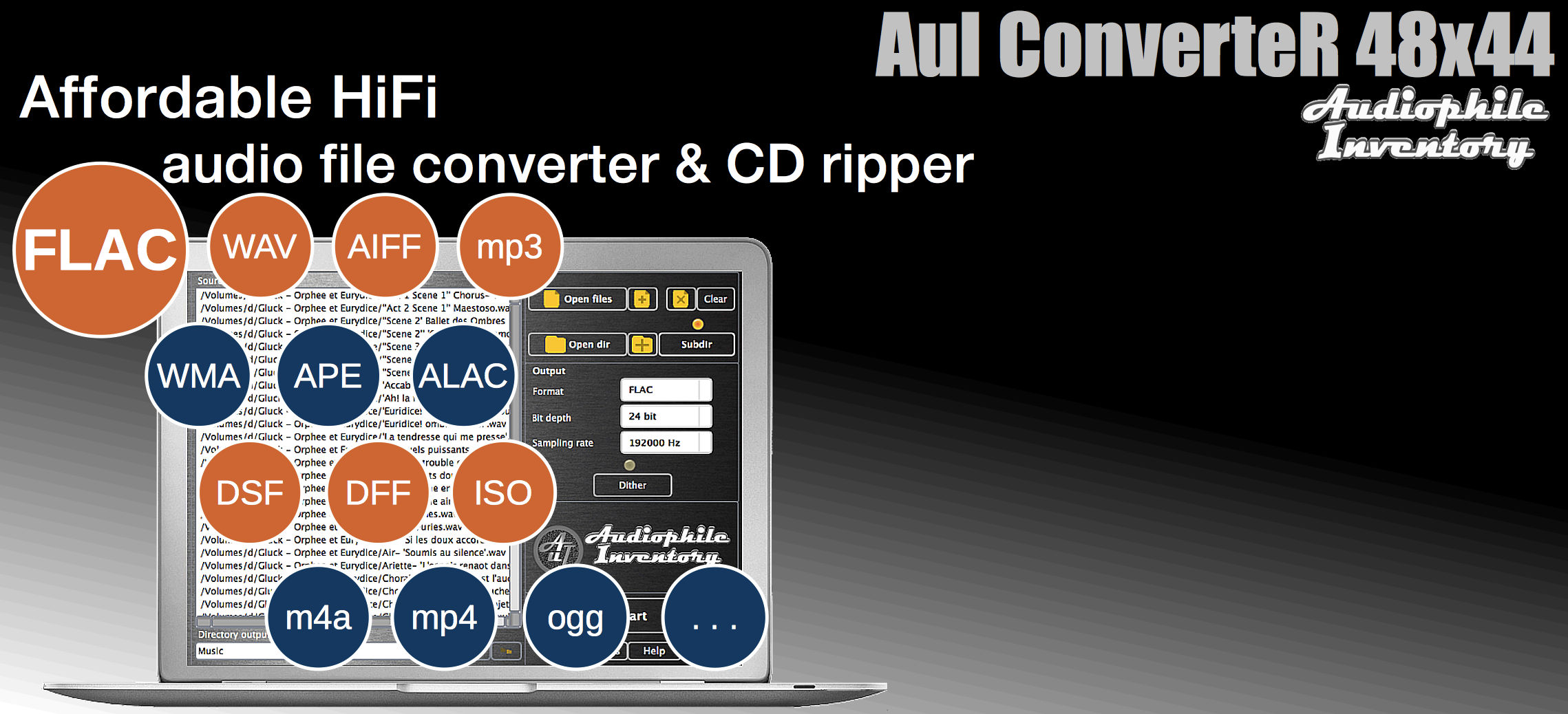 FLAC Converter for Mac OSX, Windows