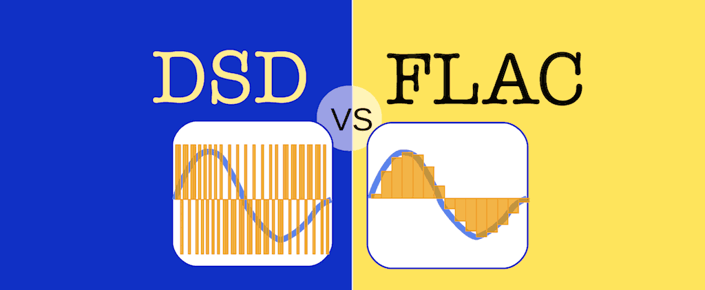 DSD vs FLAC [Comparison, Infographic, Explanation]