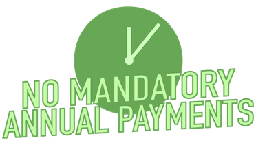 No mandatory annual payments