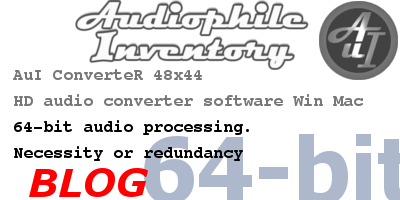 64-bit audio processing