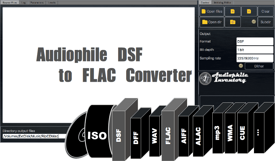 Audio Converter DSF to FLAC - AuI ConverteR 48x44