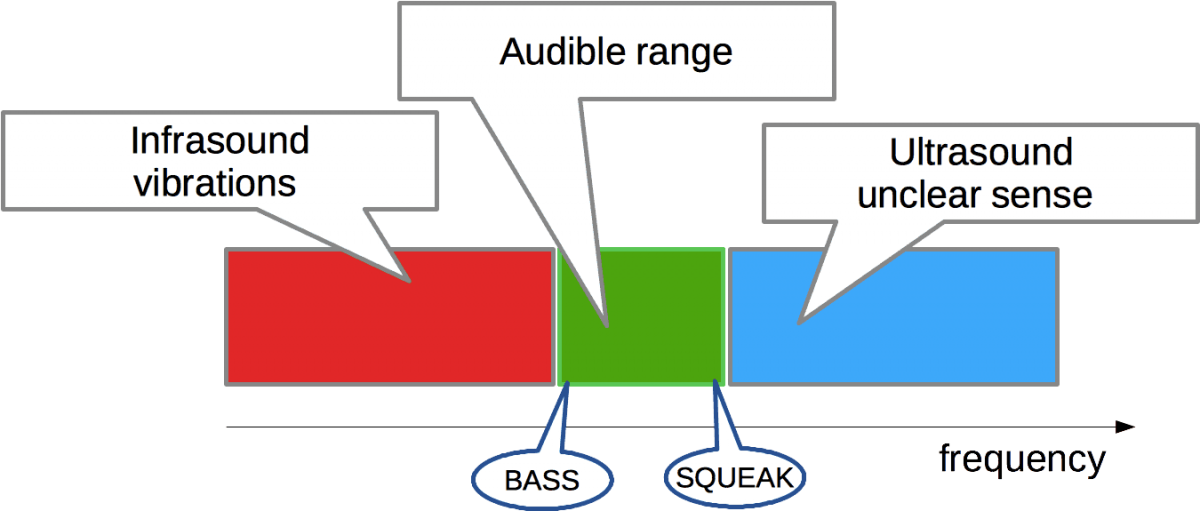 Audio frequency range