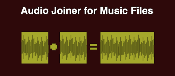 Audio joiner. Merge audil files