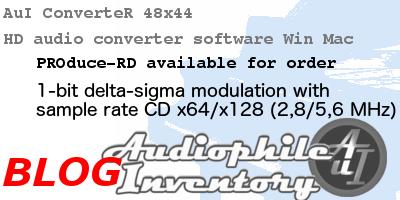 audio converter PCM to 1-bit delta sigma modulation