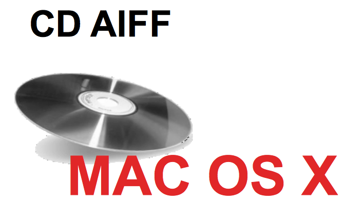 CD - AIFF Mac OS X - AIFF/sowt