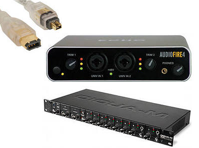 Fire Wire Audio Interface