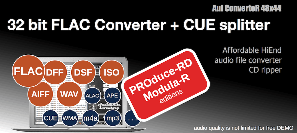 32 bit FLAC audio file converter