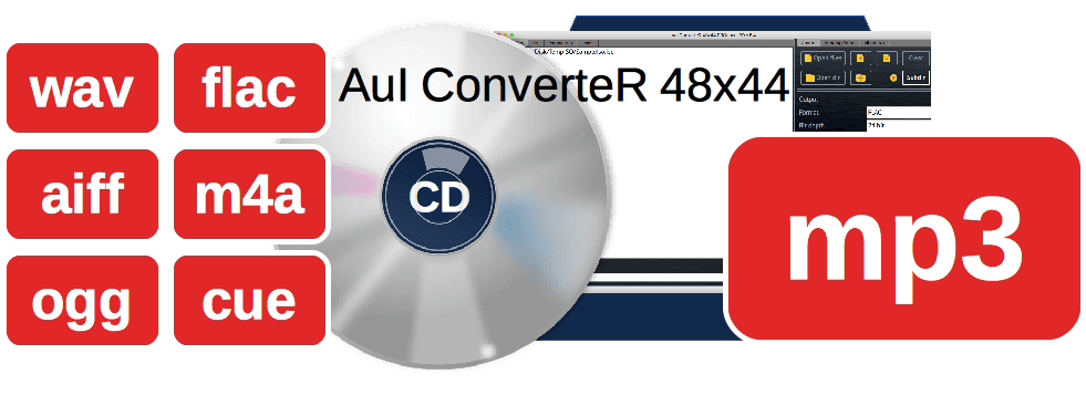 Free mp3 converter. Download AuI ConverteR 48x44