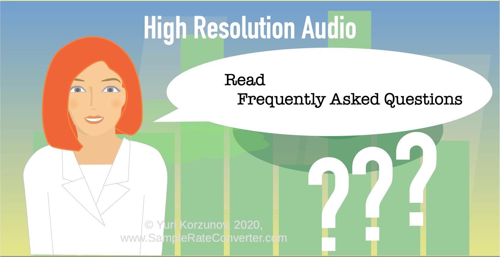 Yüksek çözünürlüklü ses SSS