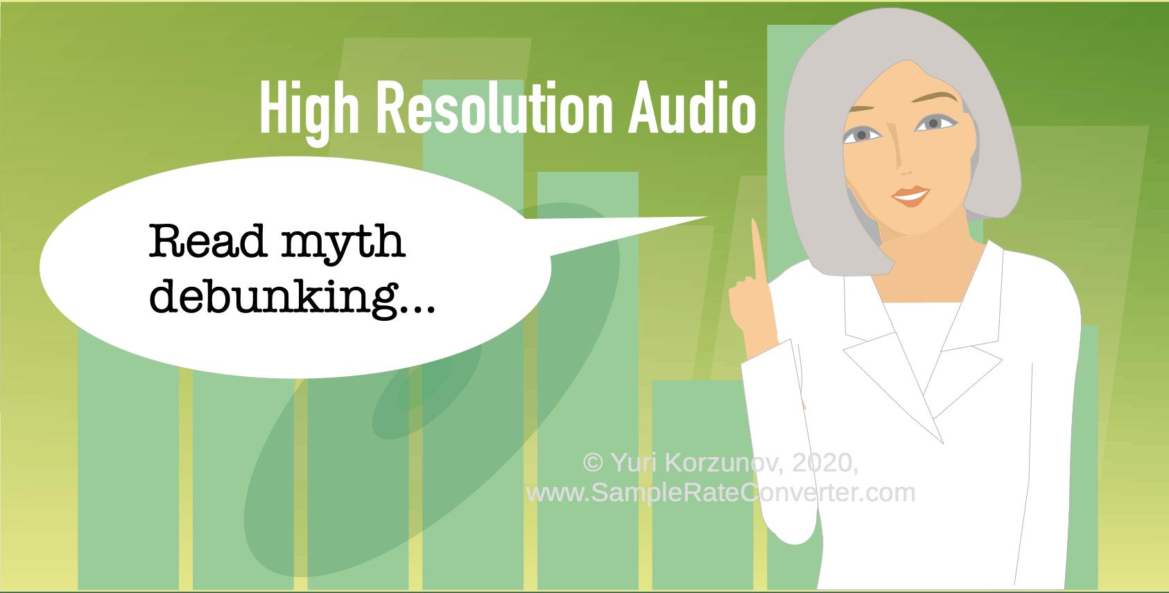 Yüksek çözünürlüklü ses efsaneleri
