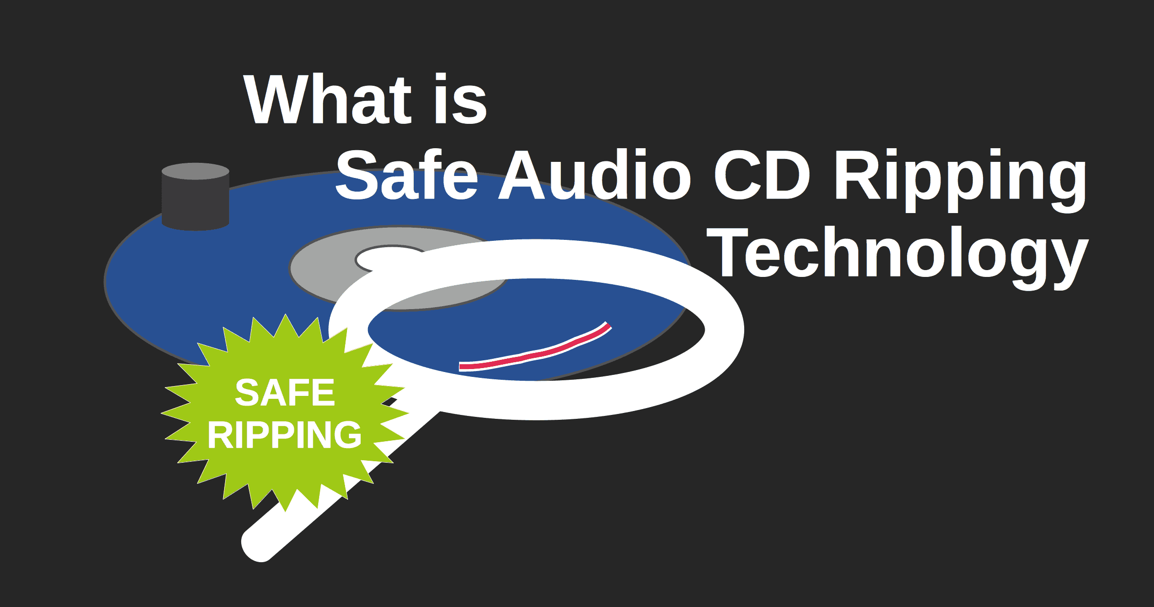 Safe CD ripping technology
