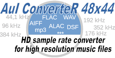 Sample rate converter audio