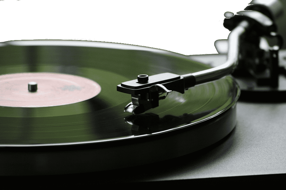 Vinyl analog audio source