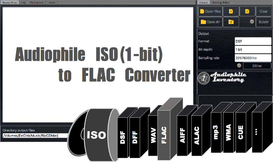 Audio Converter ISO to FLAC - AuI ConverteR 48x44