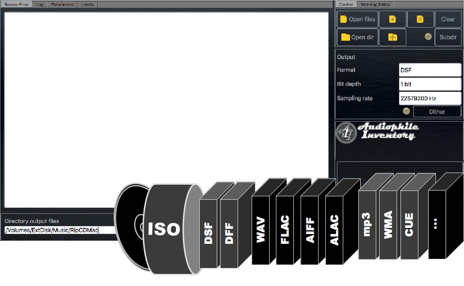 Audio ISO converter