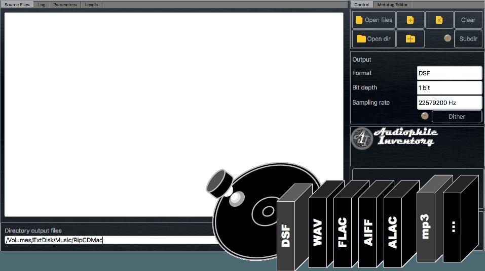 AuI ConverteR 498x44 user interface